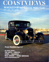 Bob Pelikan's 1931 BuickThe April 2008 cover of CoastViews Magazine