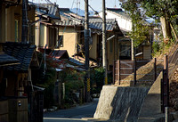 Back streets of Sugakuin © Pillar Point Poster Company