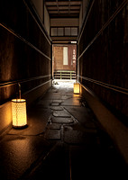 Kyoto Hallway © Pillar Point Poster Company