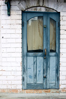 Blue Door © Pillar Point Poster Company